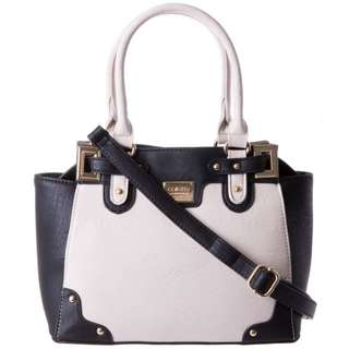 Mini Nadine plate structured Tote