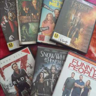 DVD - $5 Each or $25 for whole lot