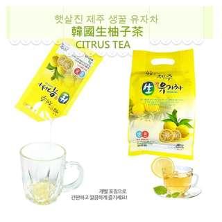 韓國 生柚子茶 30g x 30包裝