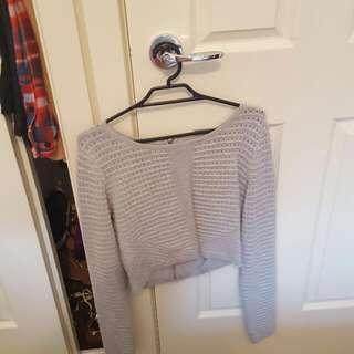 Size 10 Long Sleeve Crop