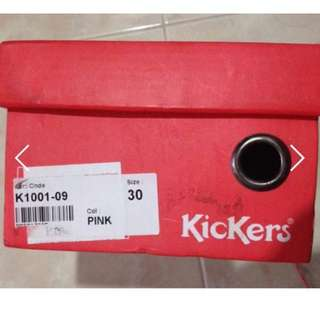 Brand New Kickers Kids Doll Shoes