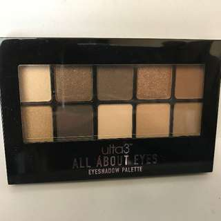Ulta3 All About Eyes Nudes Eyeshadow Pallete