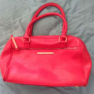 Red Hand Bag From Colette