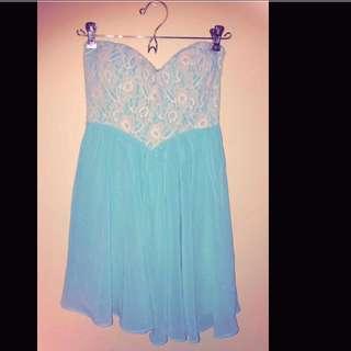 Strapless cute Dress