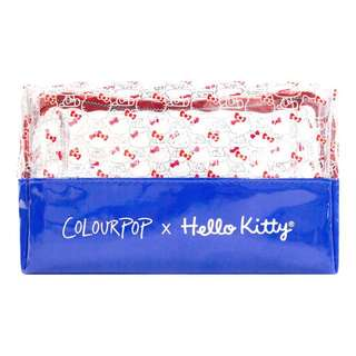 Limited Edition Colourpop X Hello Kitty Makeup Bag