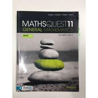 Maths Quest 11 General Mathematics