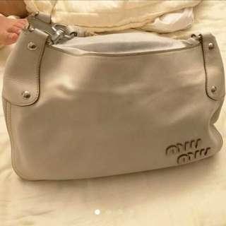 Authentic Soft Leather Miu Miu Bag
