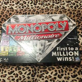 Monopoly Millionaire Board Game