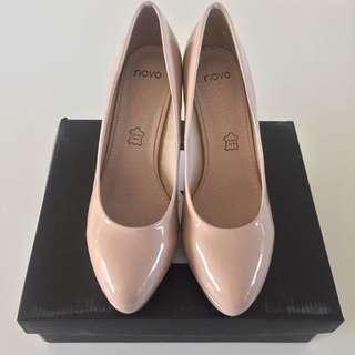 Novo Nude Patent Heels Size 8 / EU39