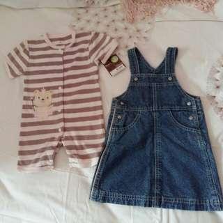 Girl's Wear 6-12m