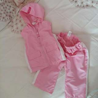 Girl's Tracksuit Set 6m