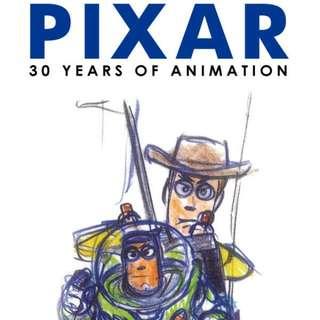 皮克斯30周年特展 門票一張