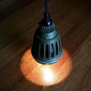 Antique Lamp Shade Lampu