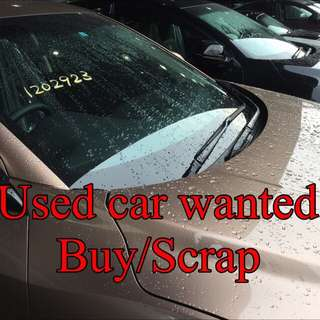 Used Car Wanted !
