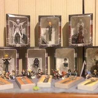 Deathnote Figurines