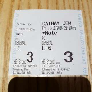 DEATH NOTE MOVIE TIX TONIGHT AT 910PM