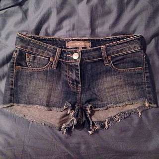 Huntingbird Denim Shorts. Size 7 AUS.
