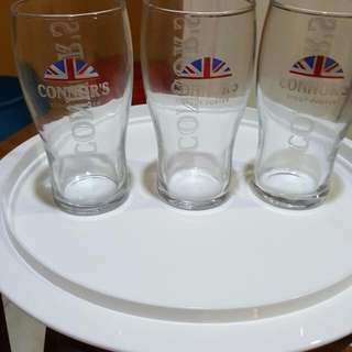 Conners beer glass from UK RM15each
