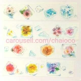 flower ice 紙膠帶 分裝