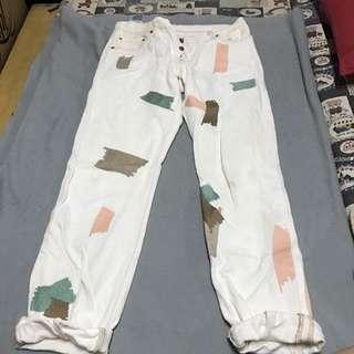 Levis男友褲
