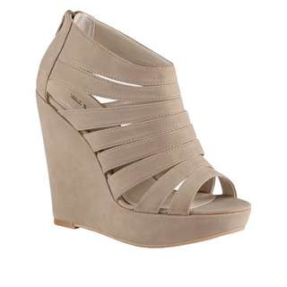 Call It Spring Taupe Wedges