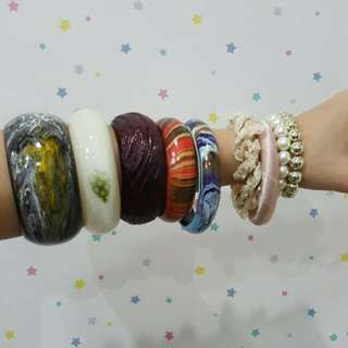 BANGLES. @6K. BOUGHT ALL ONLY 32K