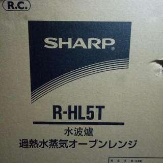 Sharp Rhl5t 水波爐  12000帶走
