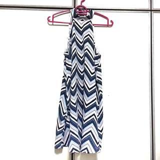 forever21 chevron dress