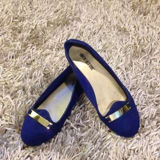 Royal blue Mocassin (Payless)