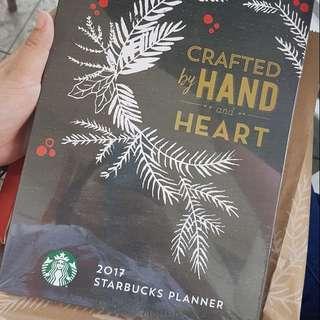 Original Starbucks Planner For 2017
