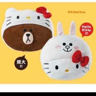 🚚 #運費我來出 現貨 7-11 Hello kitty聯名抱枕 兔兔款