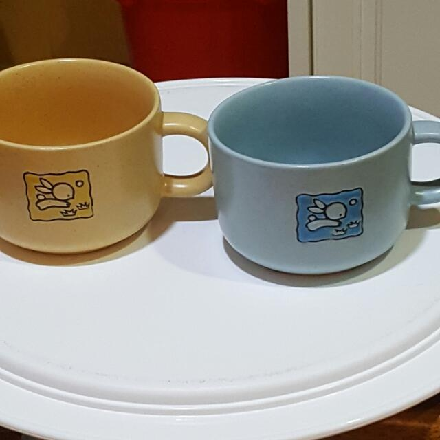 2 mugs from Colgate edition