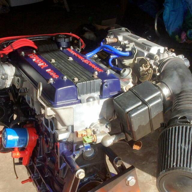 4A-GE 1600cc 16v TWIN Cam Toyota Engine