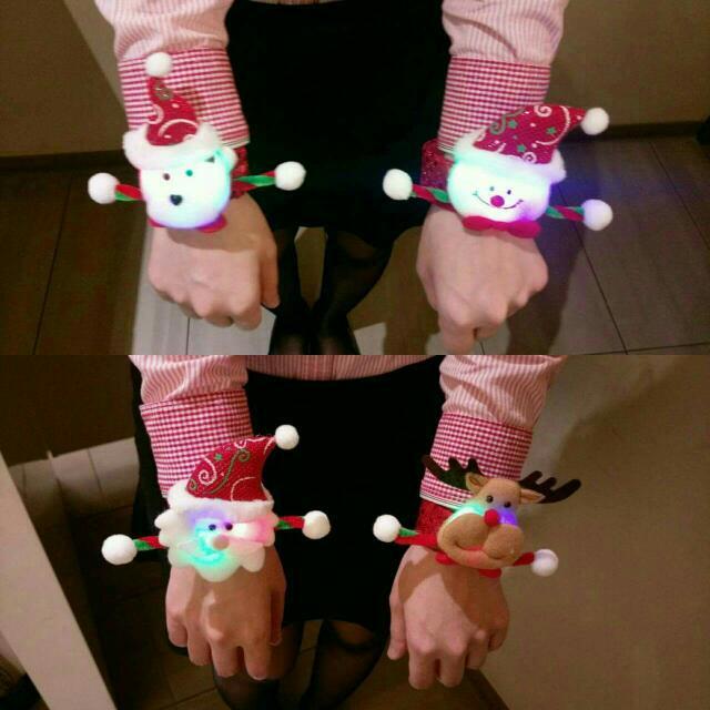 聖誕拍拍手環