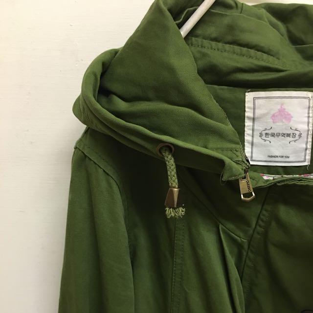 正韓 軍綠外套 含運價