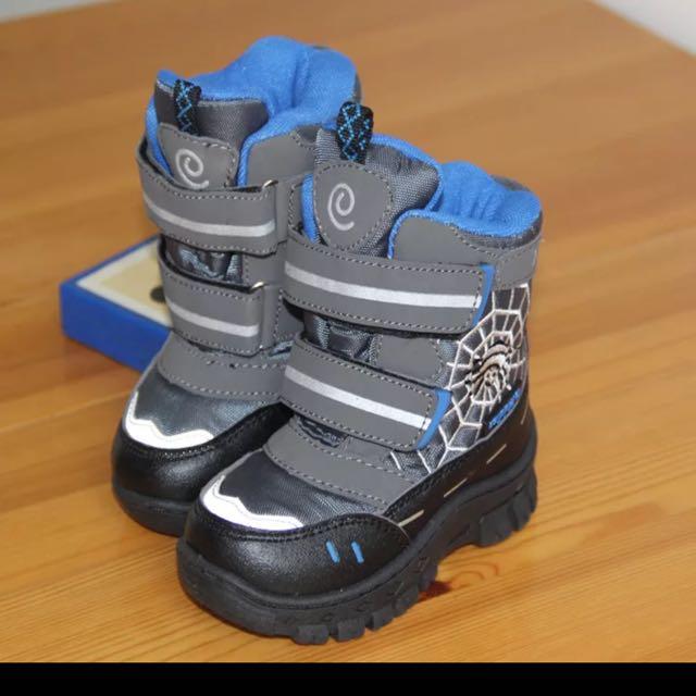 男童 雪地靴 短靴 球鞋