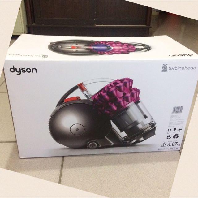 (保留)季末出清|| Dyson DC63 戴森第四代 桃紅色吸塵器