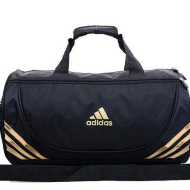 SALE 2 Colours Authentic Adidas Gym Duffle Bag With Detachable Sling
