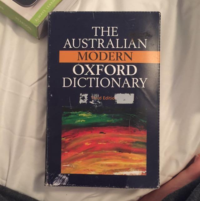 Australian Modern Dictionary