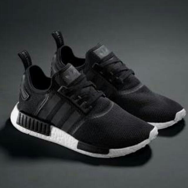 Authentic Adidas NMD Black
