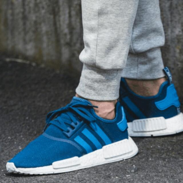 Authentic Adidas NMD Blue