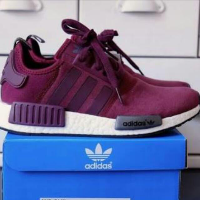 Authentic Adidas NMD Purple
