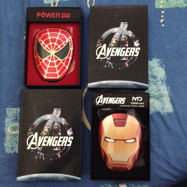 Avengers Powerbank