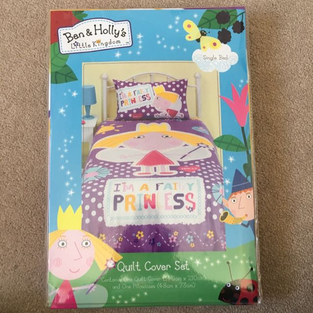Ben & Holly's Little Kingdom Single Quilt Cover