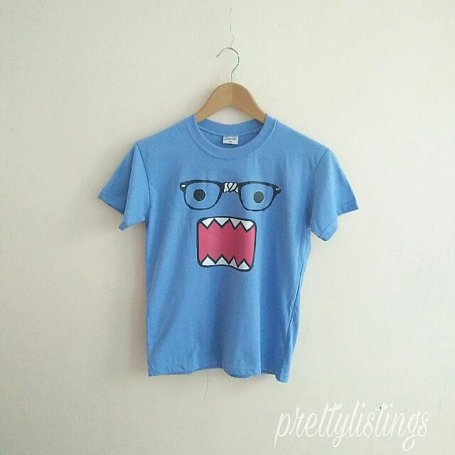 Brand new Blue domo-kun Shirt