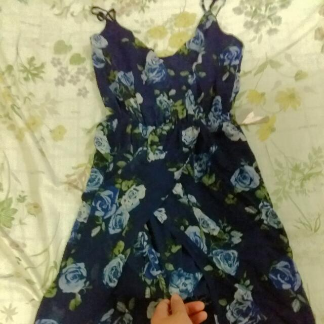 Brand New Forever 21 Long Flowy Floral Dress