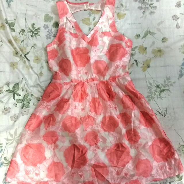 Brand New Hip Culture Floral Dress