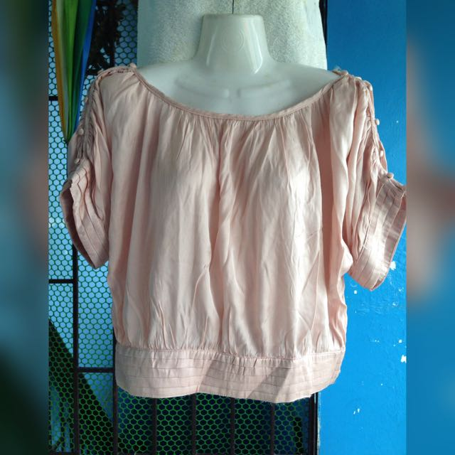 Button Sleeve Top