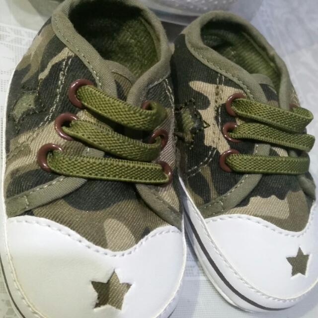 Camouflage Baby Shoes