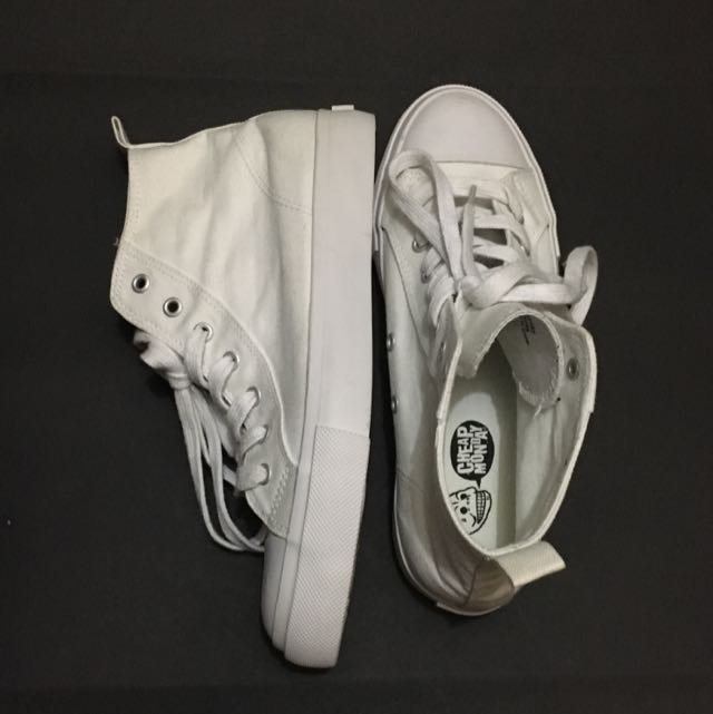 Cheap Monday White Sneakers